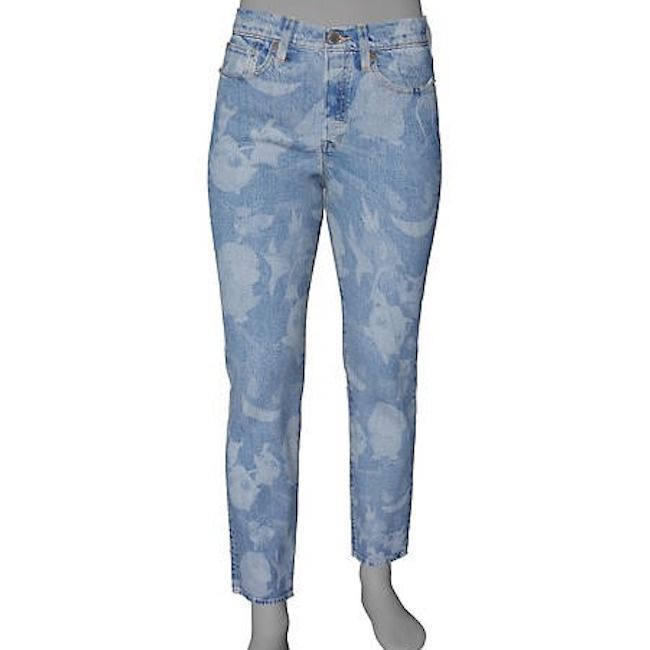 Custom Ankle Fit Levi's Wedgie Jeans