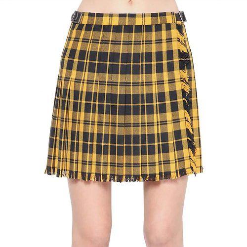 Tartan Wool Skirt ($255)