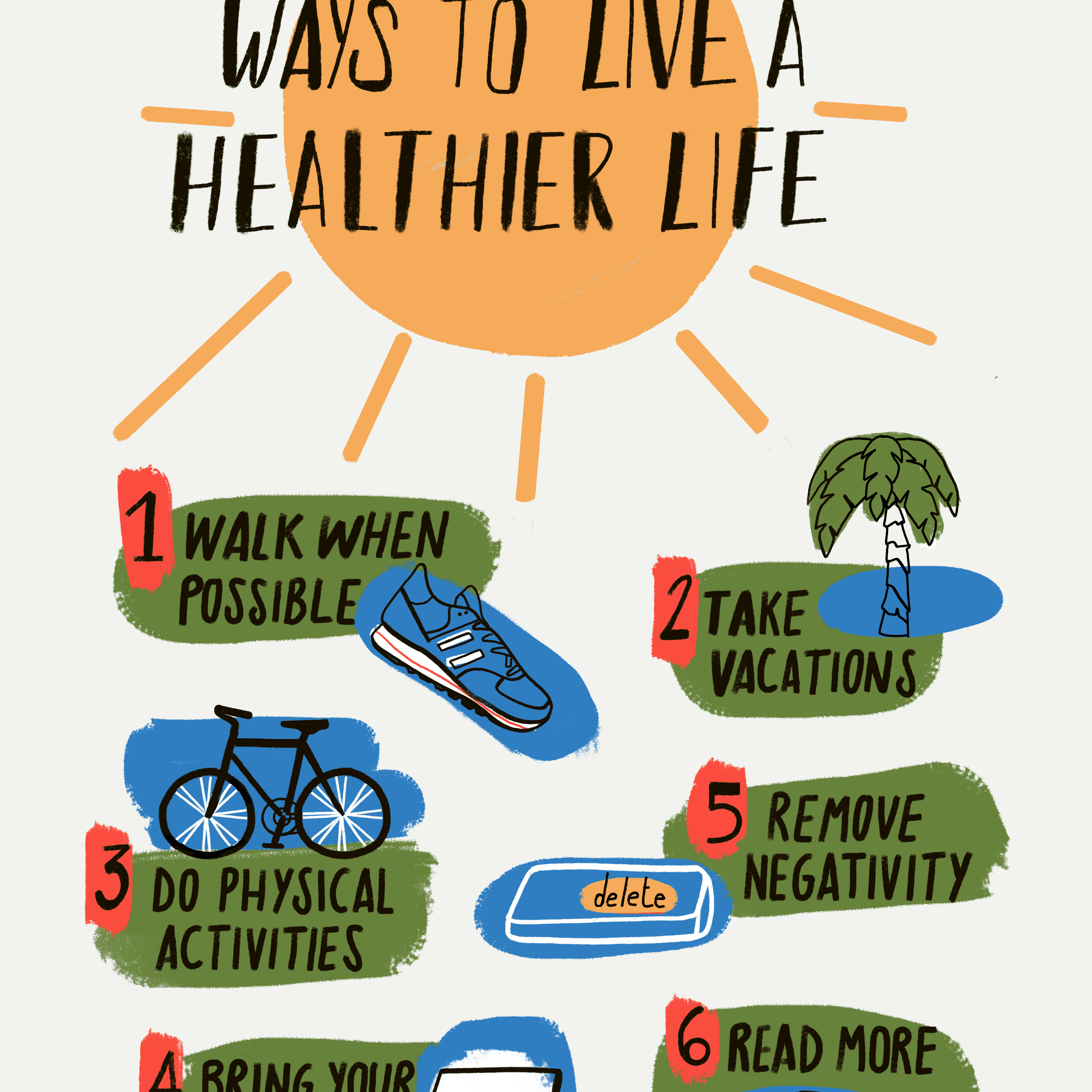 How to Live a Healthy Lifestyle in 12 Simple Steps