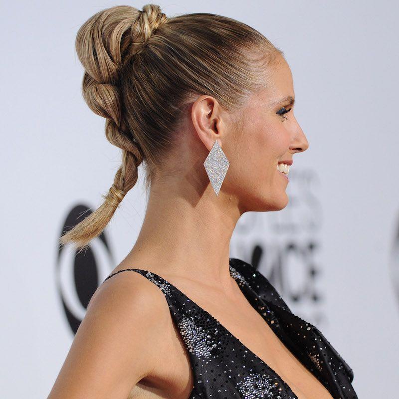 Brown Ombré Hair Heidi Klum