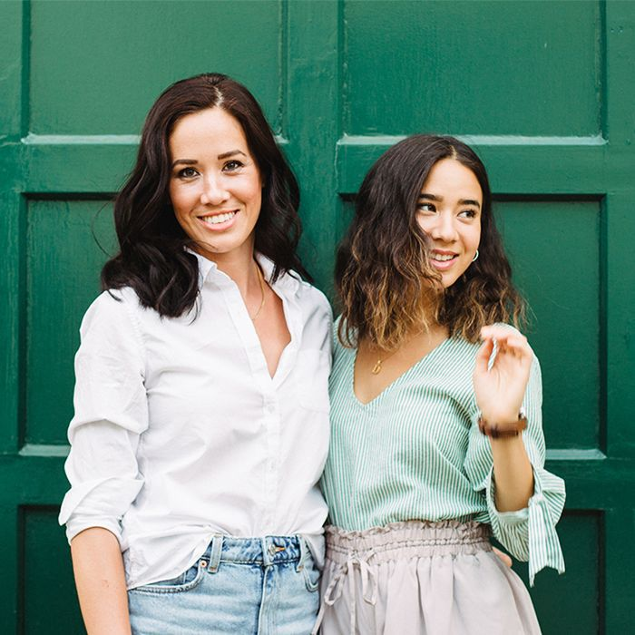 Ftoxins organic beauty blog: founders Ariane and Delphine Chui