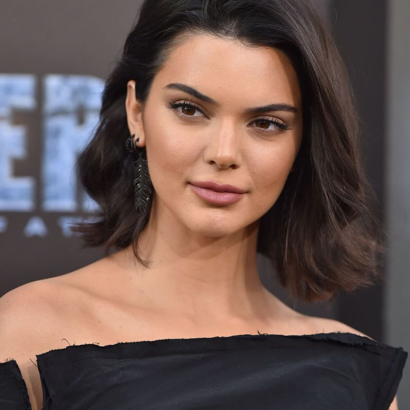 Kendall Jenner with a long bob