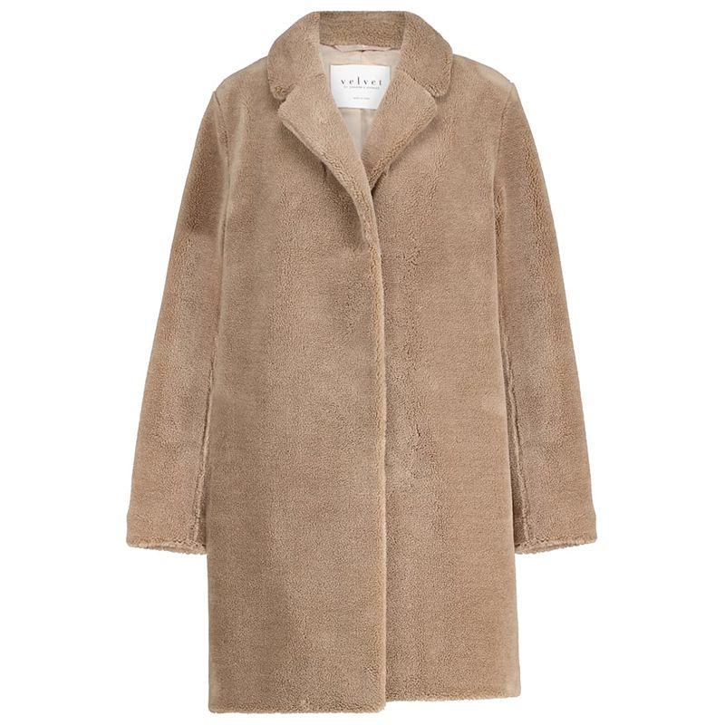 Trishelle Faux Fur Coat