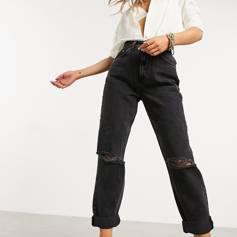 High-Rise 'Slouchy' Mom Jeans
