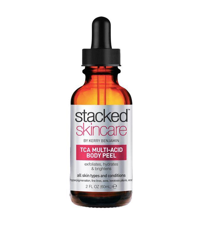 Best body peels: Stacked Skincare TCA Multi-Acid Body Peel