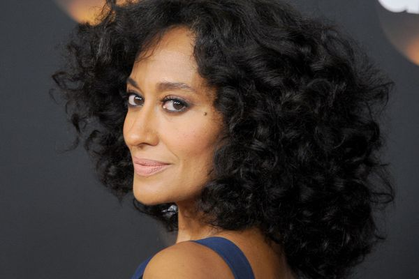 Tracee Ellis Ross with curly hairstyle