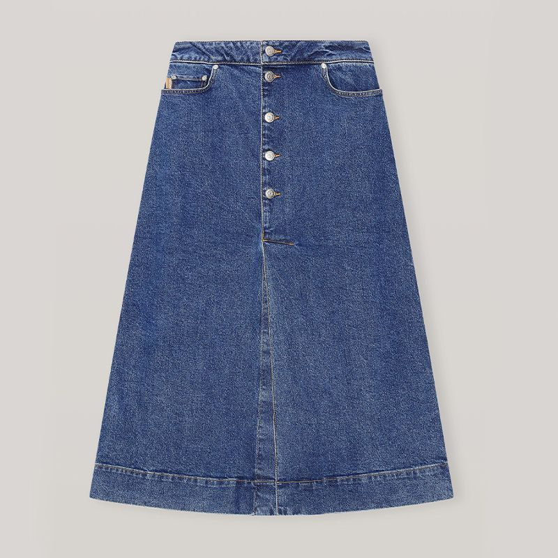 Comfort Stretch Midi Skirt