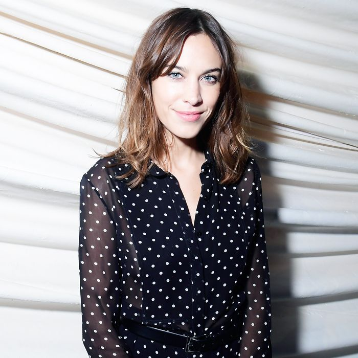 81be29d59d3747 Alexa Chung Talks About All Things Hair