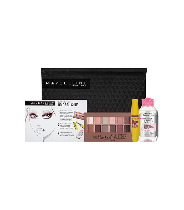 Maybelline New York NY Minute Makeup Remover Gift Set Bold & Blushing - october amazon beauty launches