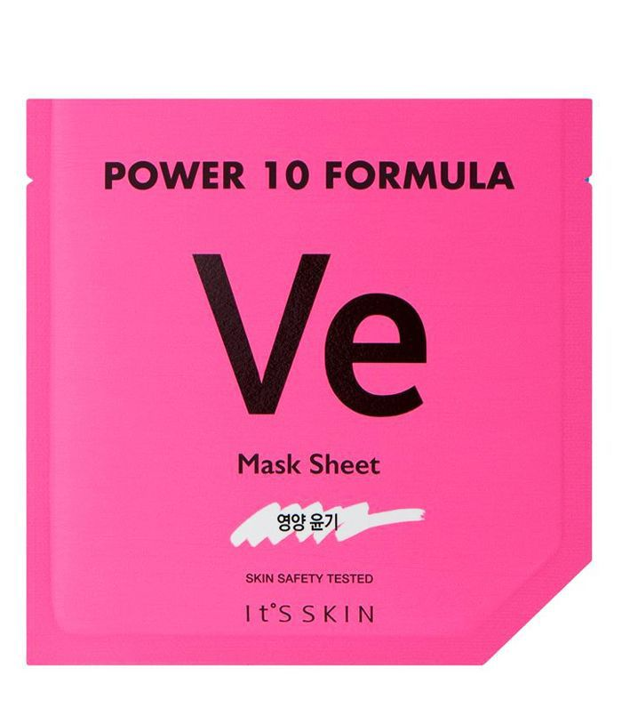 It's Skin Review: It's Skin Power10 Formula VE Glow Sheet Mask
