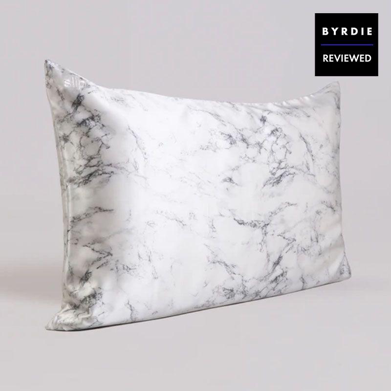 slip silk marble pillowcase review
