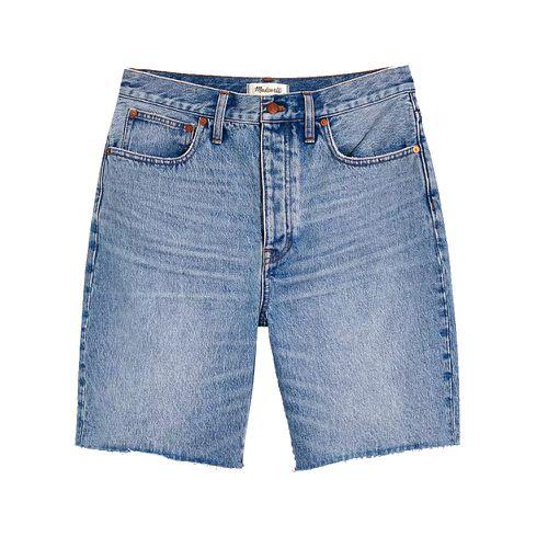 Madewell Baggy Denim Bermuda Shorts