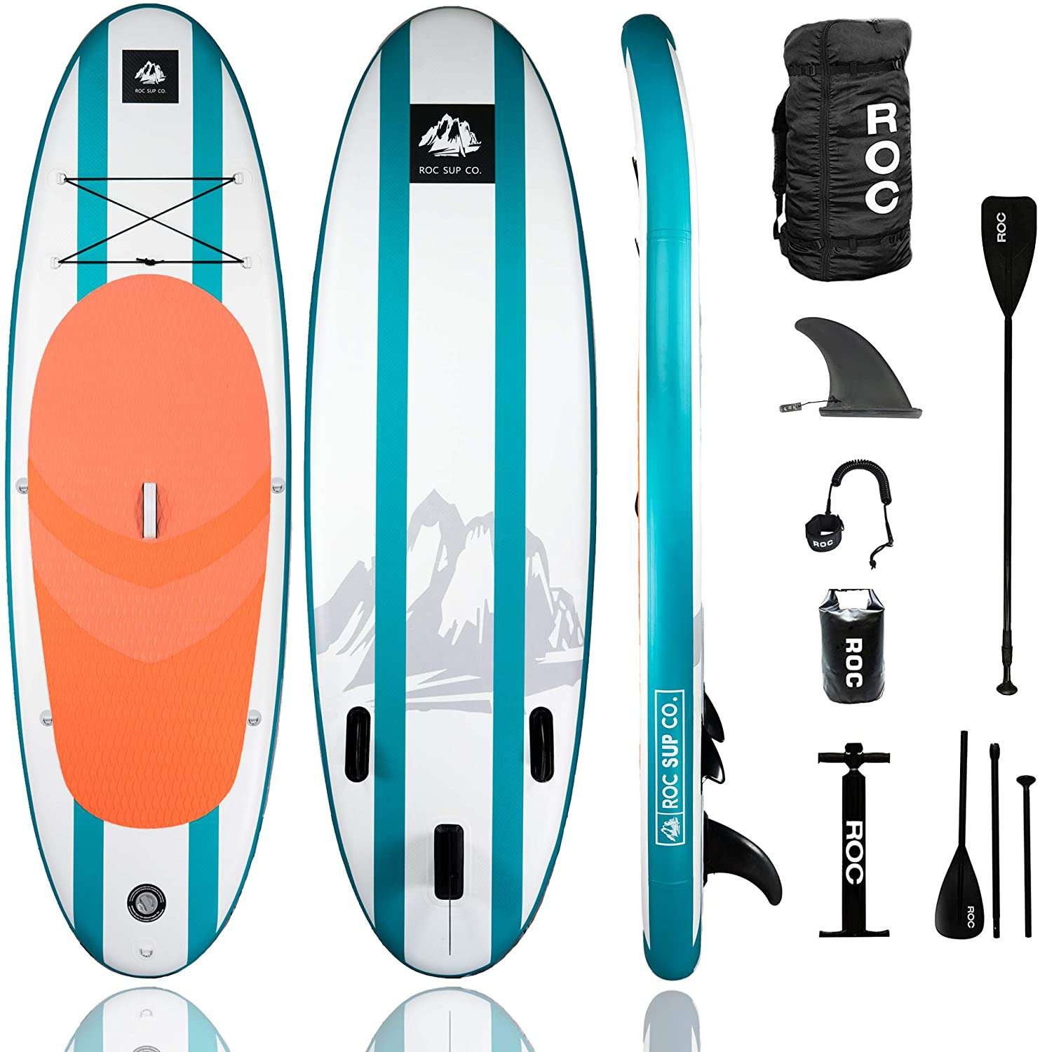 Roc 10' Scout Inflatable Stand Up Paddle Board