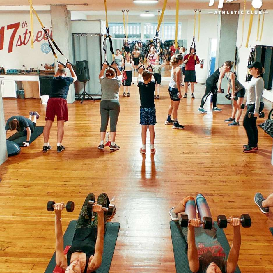 17th street athletic club gym