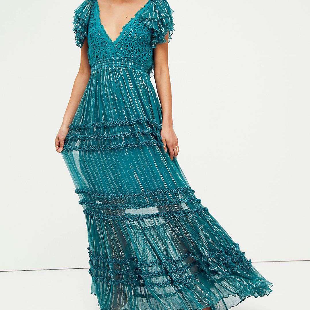 Free People Waterlily Maxi Dress
