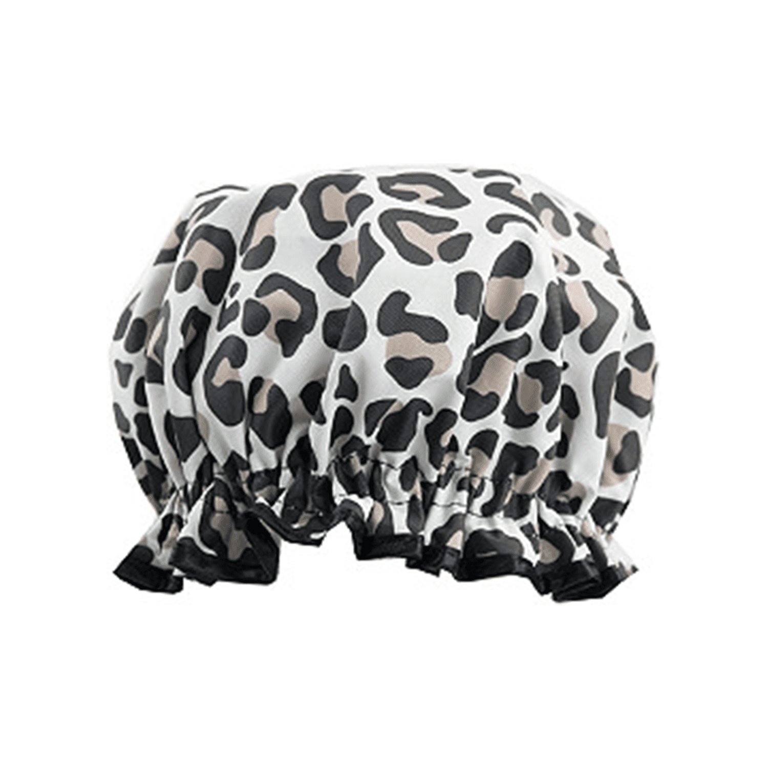 Best For Hair Treatments: The Vintage Cosmetic Company Leopard Print Shower Cap