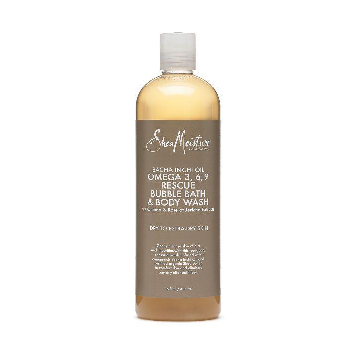 SheaMoisture Sacha Inchi Omega 3,6,9 Rescue & Replenishing Massage Oil