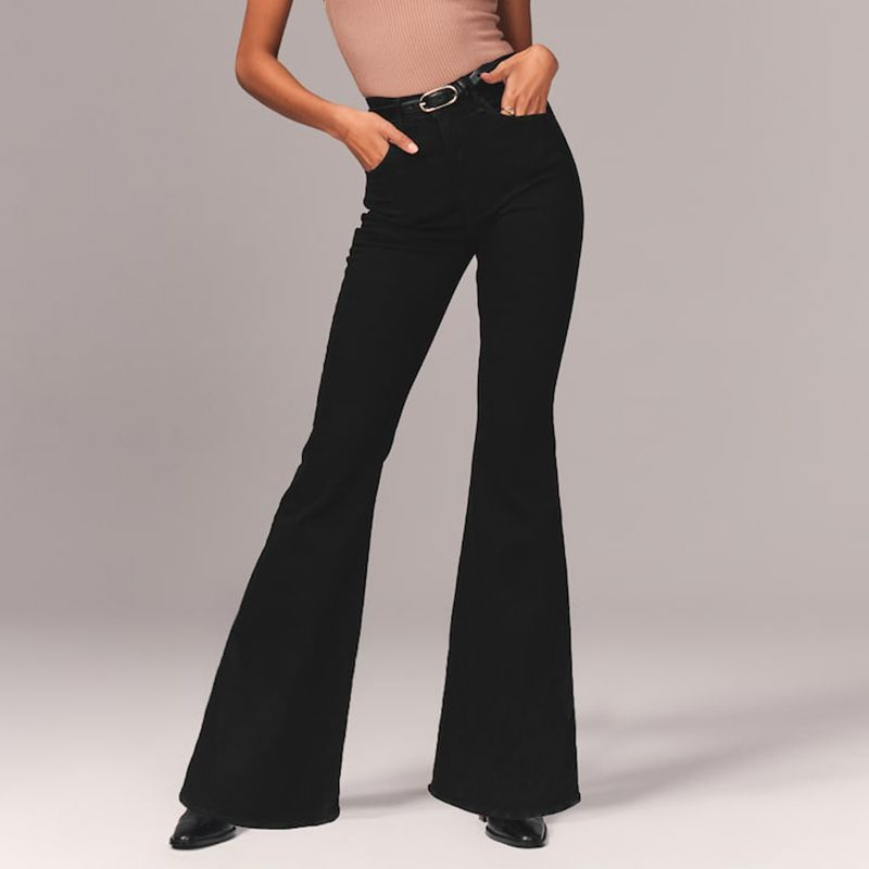 Ultra High-Rise Flare Jeans