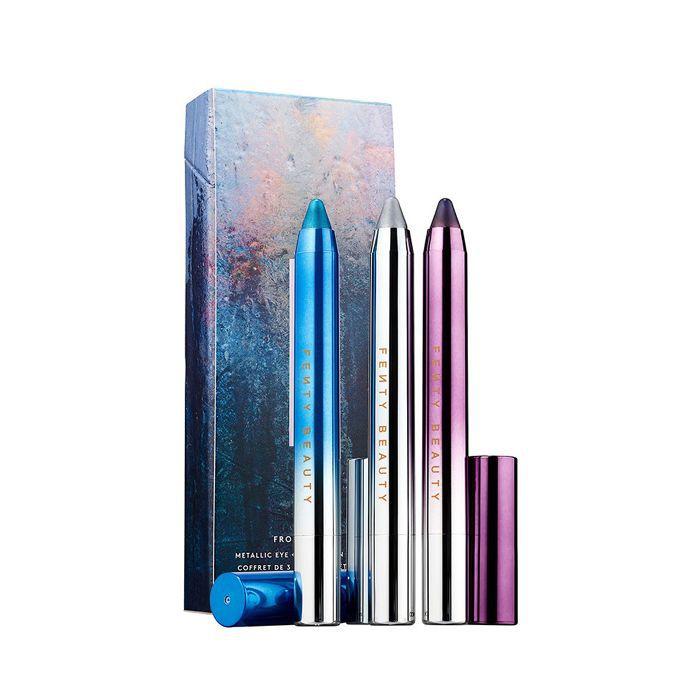 Fenty Beauty Metallic Eye + Lip Crayon Set in Frost Money