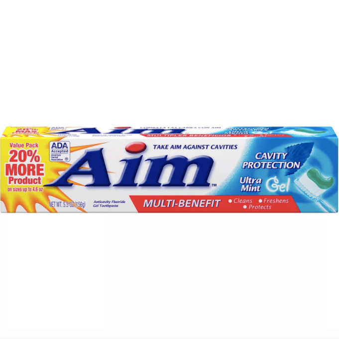 Aim Cavity Protection Toothpaste Ultra Mint Gel
