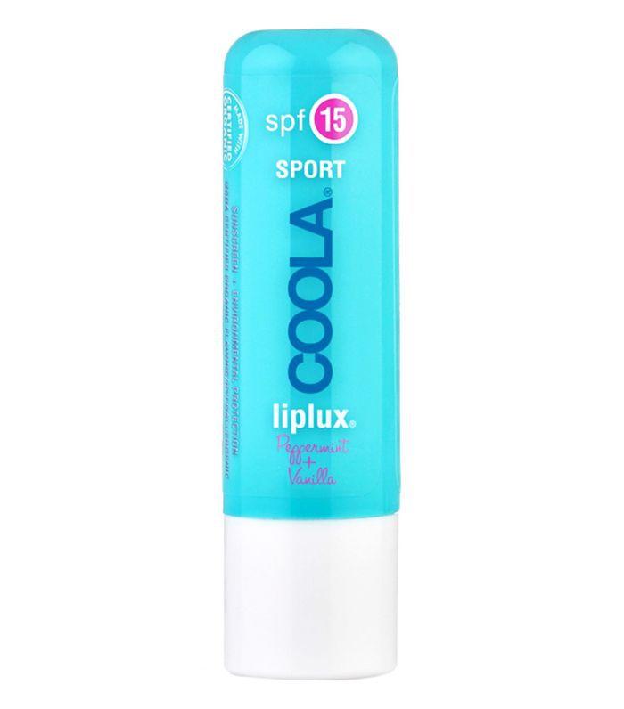 Best Lip Balm With SPF: Coola Liplux SPF 15 Peppermint Vanilla