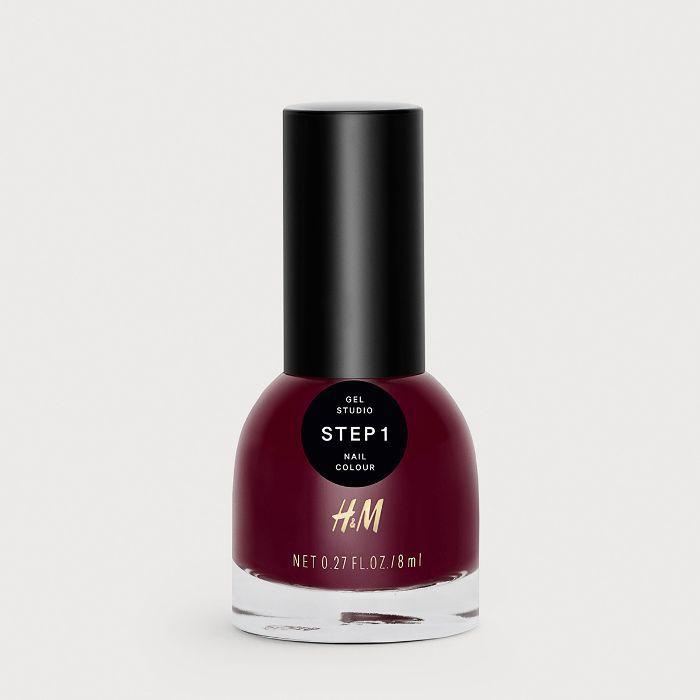 H&M Gel Nail Colour in Bordeaux