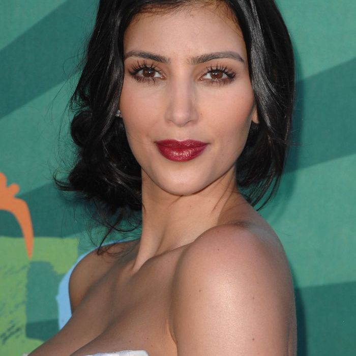Kim Kardashian Makeup Looks, 2008