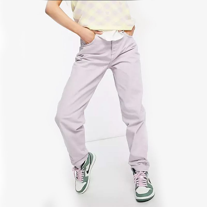 Petite High Rise Slouchy Mom Jeans