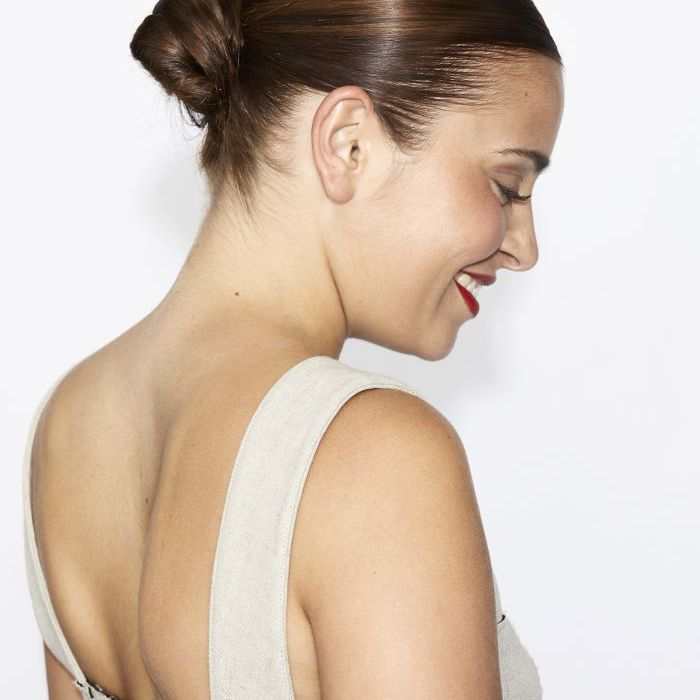 How to Perfect Low Bun Step Four