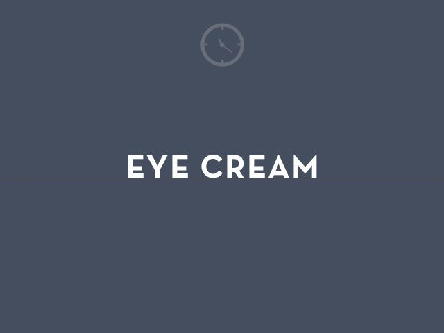 eye cream graphic