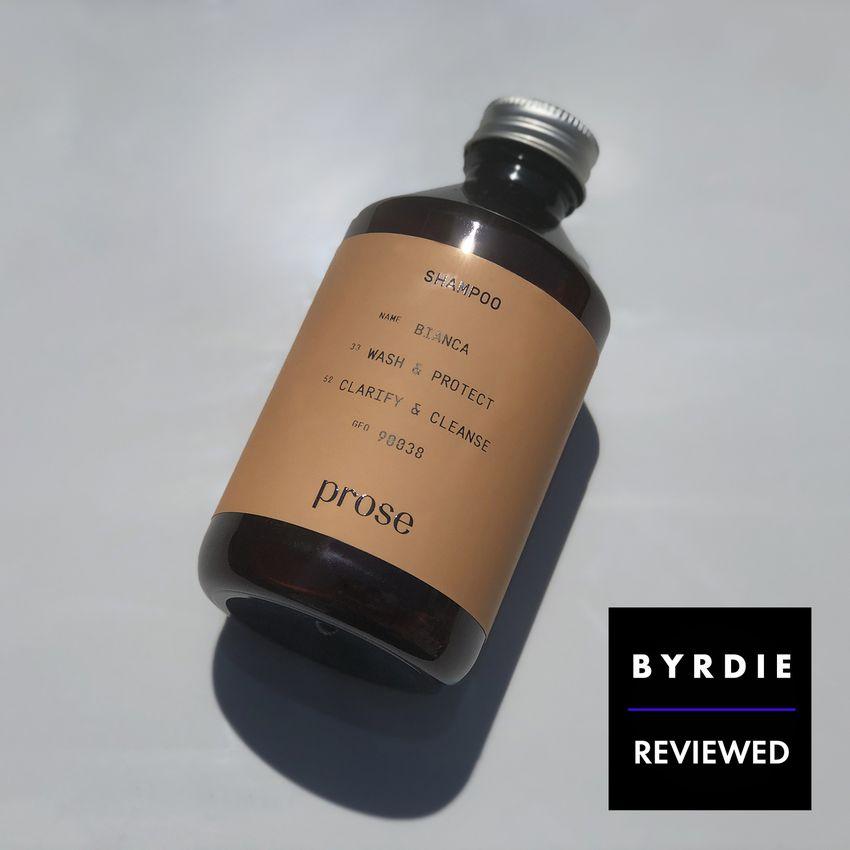 prose shampoo/conditioner