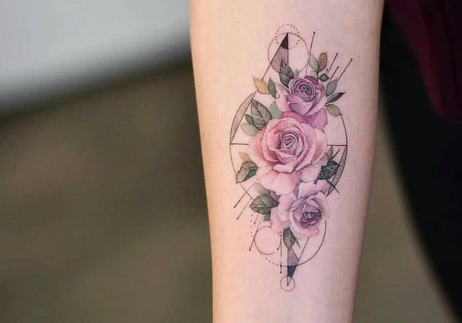 The Coolest Geometric Tattoos on Instagram