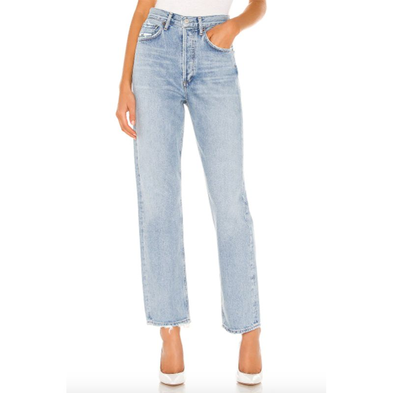 '90s Mid-Rise Loose Fit Jean