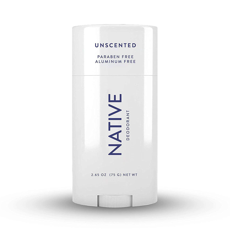 Native Women's Deodorant Unscented Sensitive
