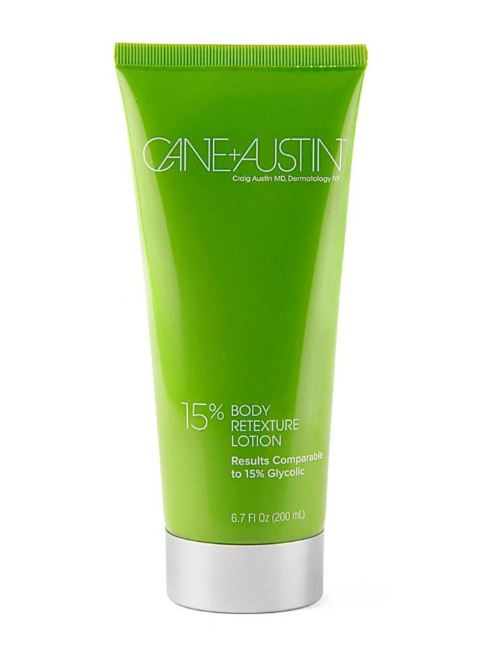 Cane + Austin 15% Glycolic Acid Body Retexture Lotion