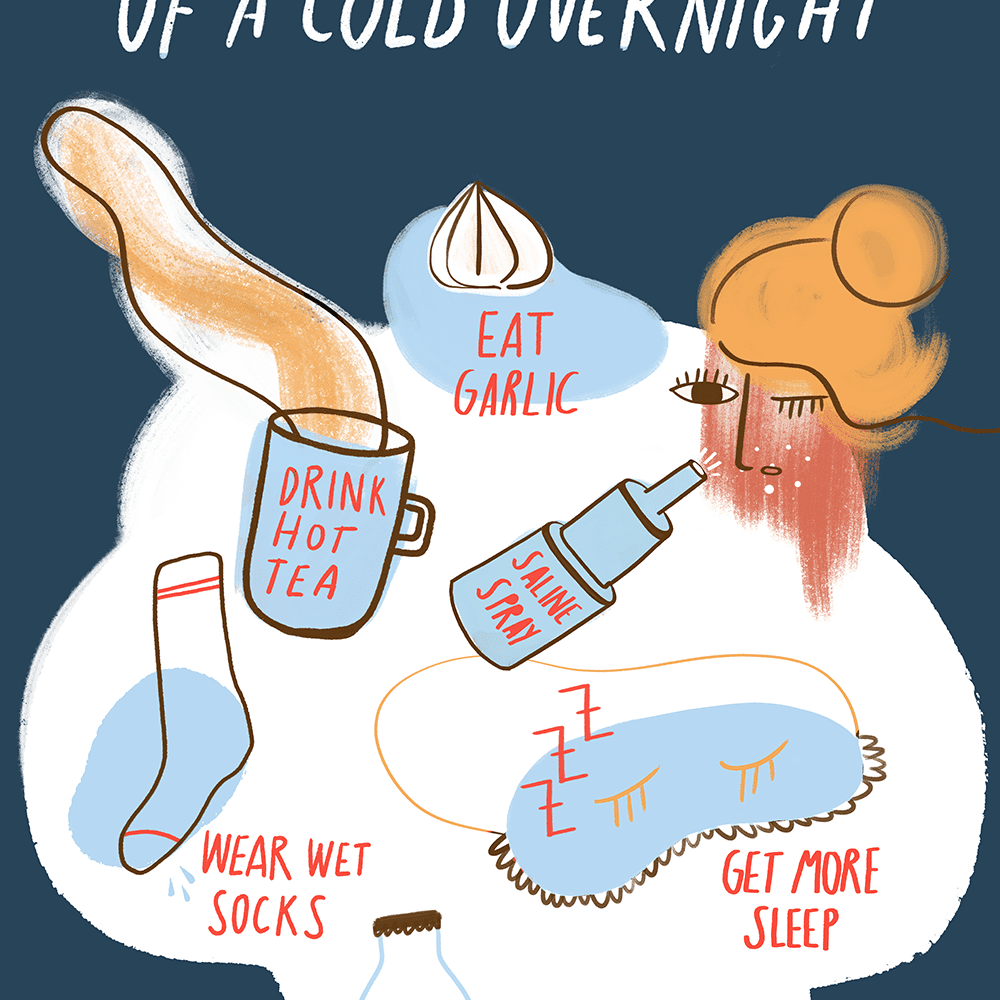 8 Ways to Get Rid of a Cold Overnight