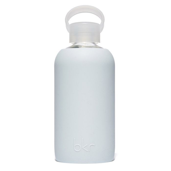 Wren Light Blue Glass Water Bottle/16 oz.