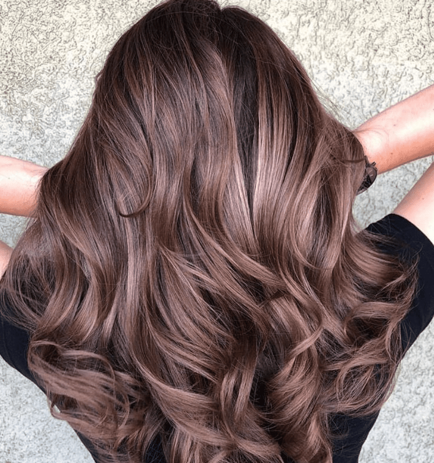 17 Chocolate Mauve Hair Examples To Show Your Colorist