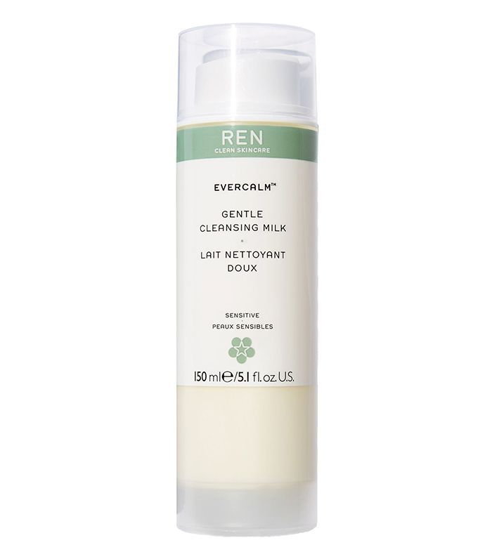 Best face cleanser sensitive skin: REN Evercalm Gentle Cleansing Milk