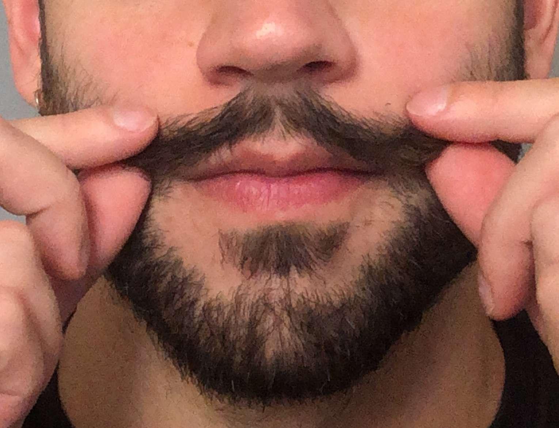 Mustache styling