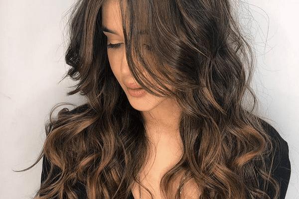 Illuminated Brunette