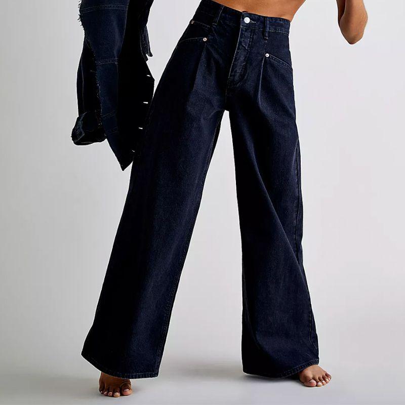 Oversized Slouchy Wide Leg Jeans