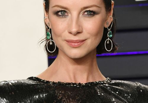 Caitriona Balfe Vanity Fair Oscars Party