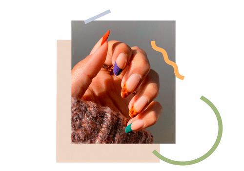 manicured hand