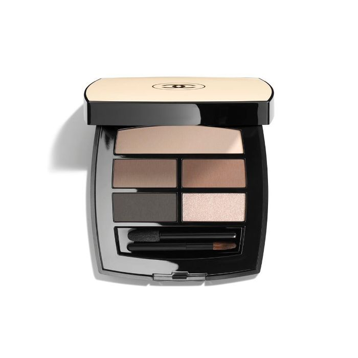 monochromatic makeup: Chanel Les Beiges Healthy Glow Natural Eyeshadow Palette in Light