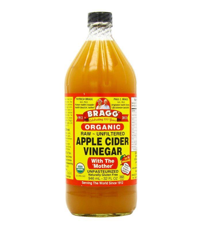 Home remedies for whiter teeth: Bragg Apple Cider Vinegar