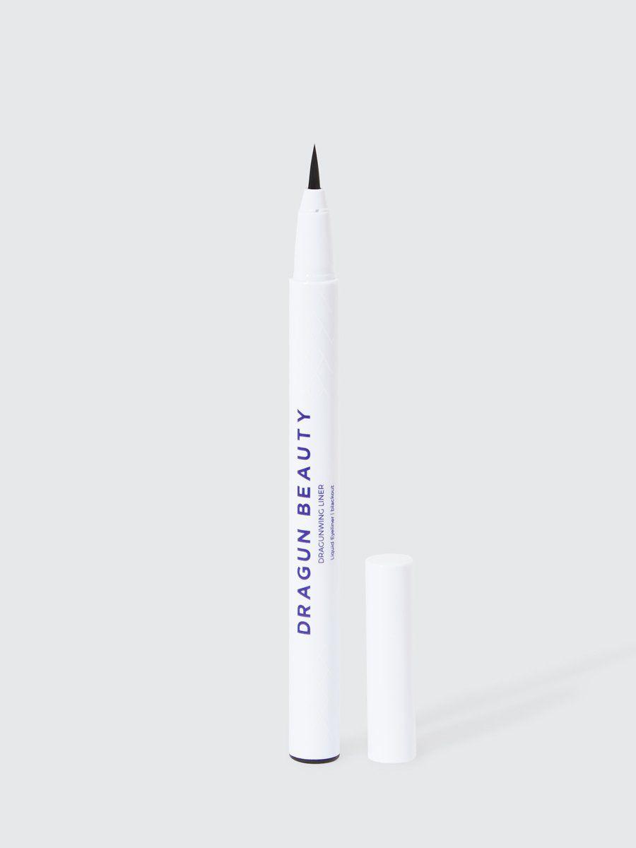 white pen tube with navy text