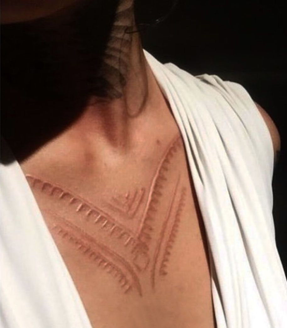 Scarification Has A Deep History, but Modern Artists Are Bringing It Back