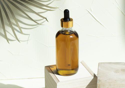 black seed oil in bottle