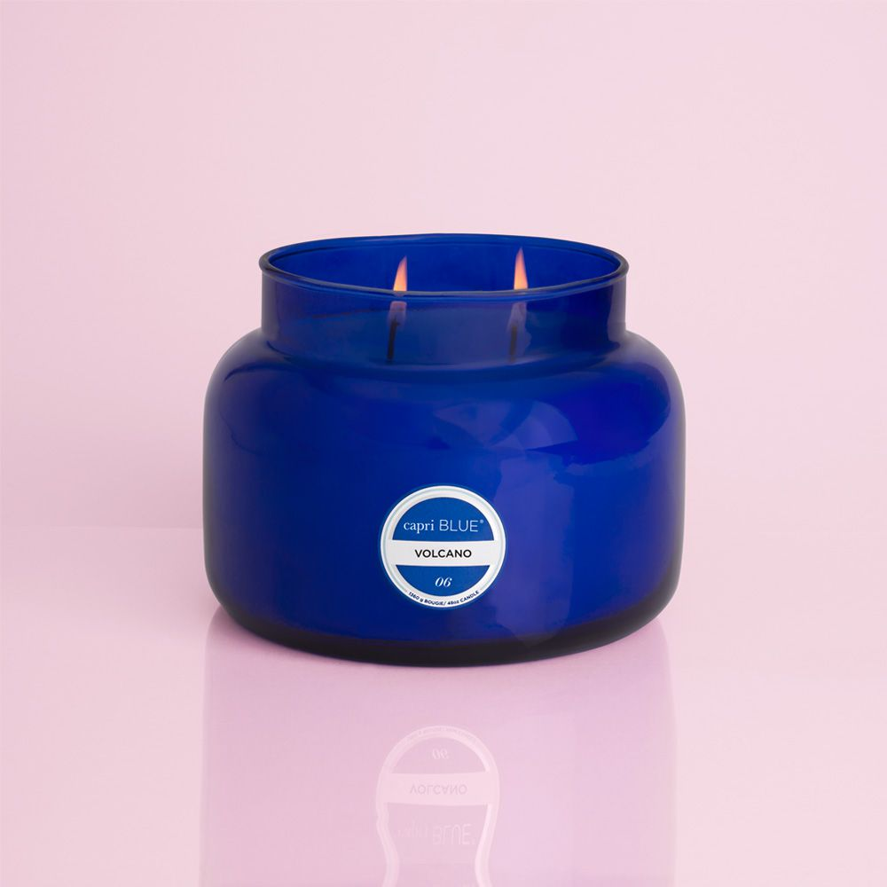 capri blue jumbo candle